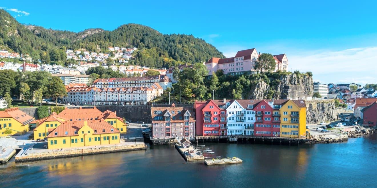 Stadt Bergen, Norwegen